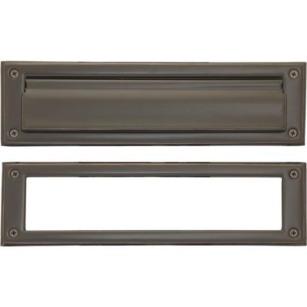 Br Accents 3 X 10 In Mail Slot Venetian Bronze Finish