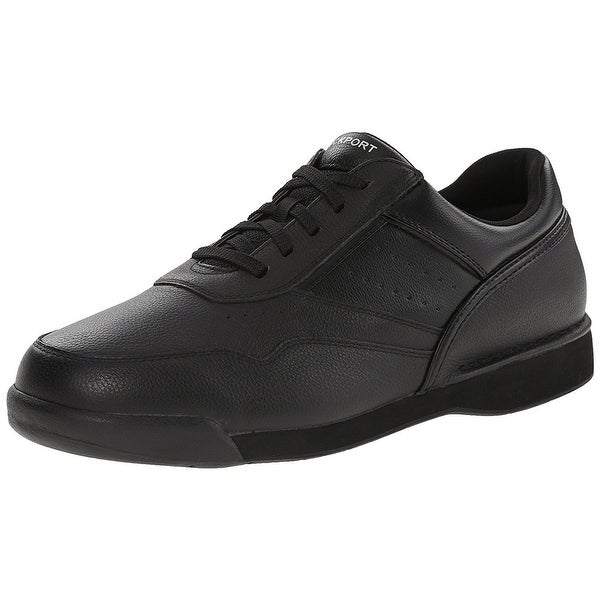 Rockport Mens M7100 Leather Low Top Lace Up Walking Shoes - 8