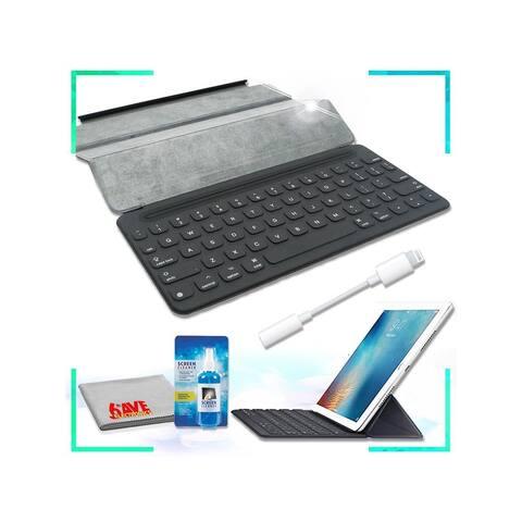 Apple Smart Keyboard for iPad Pro 9.7 IOS Accessory Bundle
