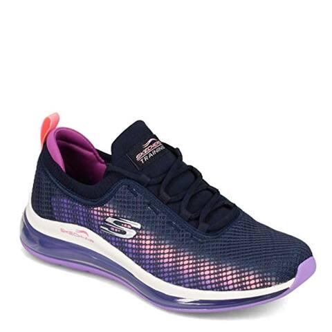 Skechers Women's Skech-AIR Element 2.0-Vivid B Sneaker, NVLV, 9