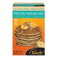 Pamela's Products Pancake Mix - Protein - Case of 6 - 12 oz.