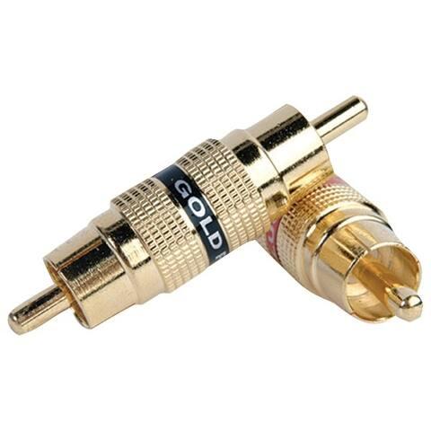 Db Link Bm105 Gold Barrel Connectors, 2 Pk (Male/Male)