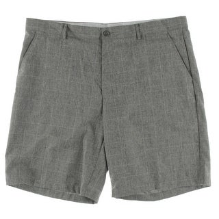 Greg Norman for Tasso Elba Womens Casual Shorts Rapid Dry Checkered - 42