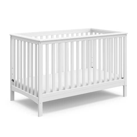 Storkcraft Hillcrest 4-in-1 Convertible Crib - Converts to Toddler Bed, Daybed, and Full-Size Bed, JPMA Certified