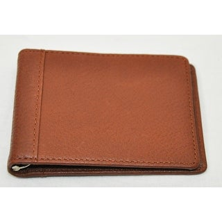 Trafalgar Mens 3116PT04 Brown Pass-Case Card Case Bifold Wallet