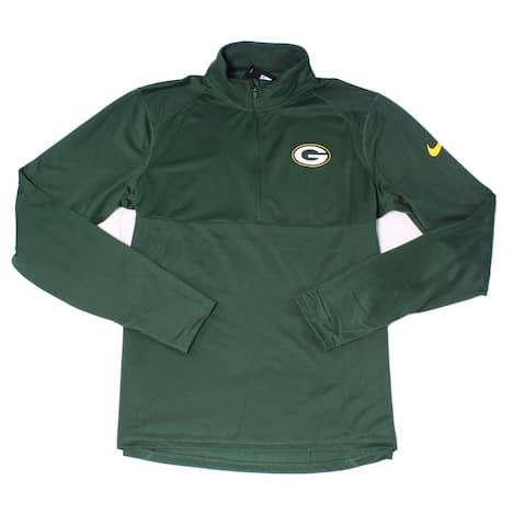 Nike Mens Activewear Jacket Green Size Medium M Lightweight Pullover