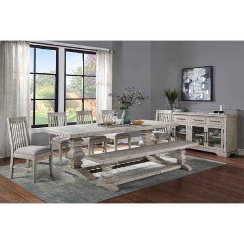 Sagrada 4-Drawer, 4-Door Sideboard Sierra Grey