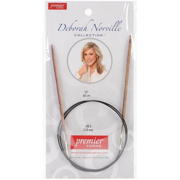 "Deborah Norville Fixed Circular Knitting Needles 32""-Size 3/3.25mm"