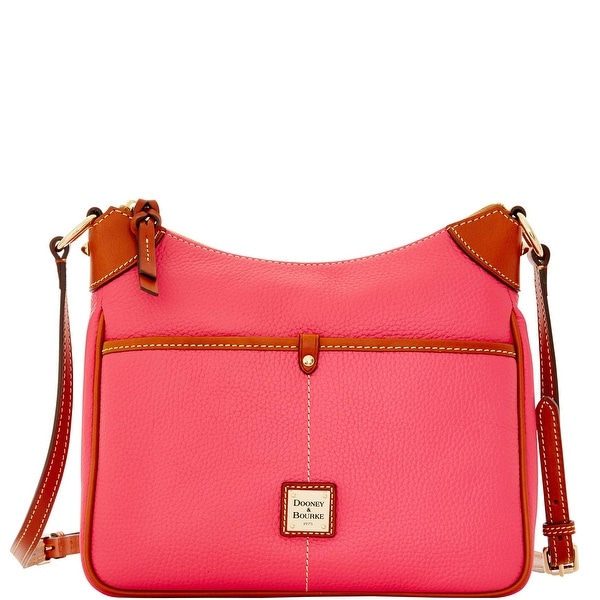 Dooney & Bourke Pebble Grain Kimberly (Introduced by Dooney & Bourke at $198 in Dec 2015) - Hot Pink