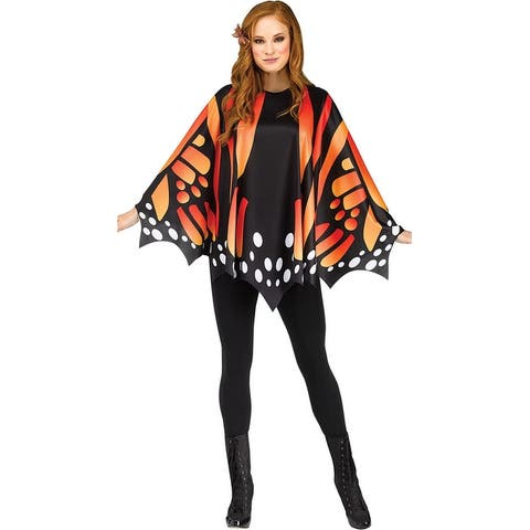 Butterfly Wing Poncho Costume - One Size Fits Most