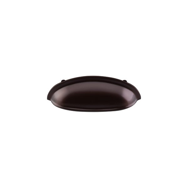 Top Knobs M744 Somerset 3 Inch Center to Center Cup Cabinet Pull - Oil Rubbed bronze