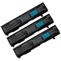 Battery for Toshiba PA3399U (3-Pack) Laptop Battery