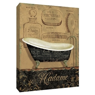 "PTM Images 9-154724  PTM Canvas Collection 10"" x 8"" - ""Bain de Madame"" Giclee Tubs Art Print on Canvas"