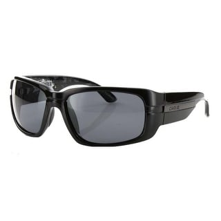Carve Eyewear Contender Gloss Black With Polarized Grey Lens