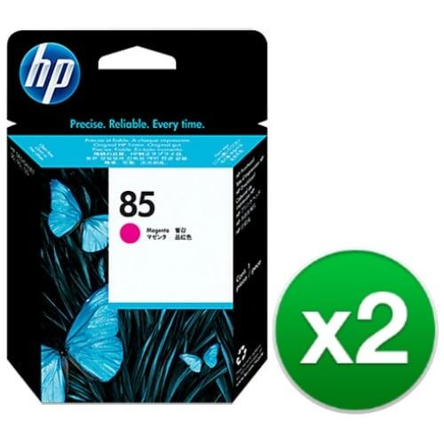 HP 85 Magenta DesignJet Printhead (C9421A) (2-Pack)