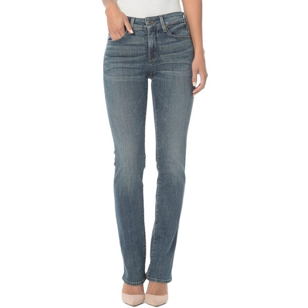 1a41dd13e0575 Shop NYDJ Womens Marilyn Classic Straight Jeans Noma Wash Mid-Rise - Free  Shipping Today - Overstock.com - 23140440