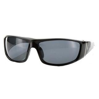 Carve Eyewear DC Black Signature Polarized Grey Lens