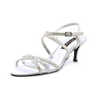 Nina Curran Open Toe Canvas Sandals