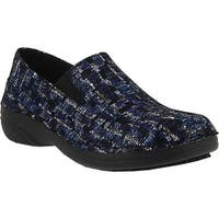 Spring Step Women's Manila Blue Multi Ice Leather