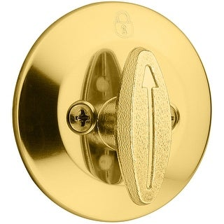 Kwikset 667  One Sided Deadbolt with Back Plate from the 660 Series