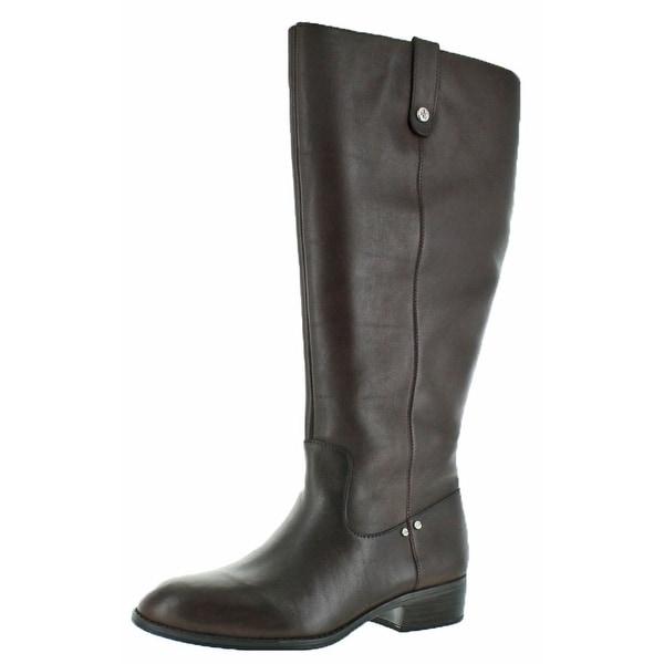 Lauren Ralph Lauren Masika Womens Wide Leather Boots