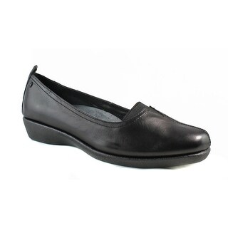 Hush Puppies Womens Pearlcarlisle BlackLeather Loafers Size 9.5
