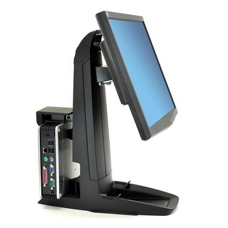 Ergotron 33-338-085 Ergotron Neo-Flex All-In-One SC Lift Stand - Up to 37lb - Up to 24 LCD Monitor - Black -