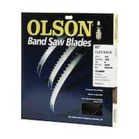 """Olson Saw 08580 Hard Edge Flex Back Band Saw Blade, 80"""" x 1/8"""""""