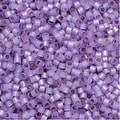Miyuki Delica Seed Beads 11/0 - Silver Lined Lavender - Alabaster Dyed DB629 7.2 Grams - Thumbnail 0