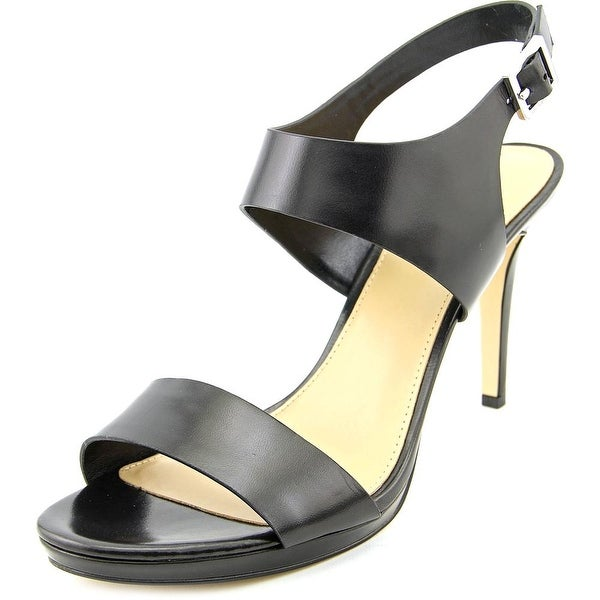 Michael Michael Kors Claudia Mid Women Open Toe Leather Sandals
