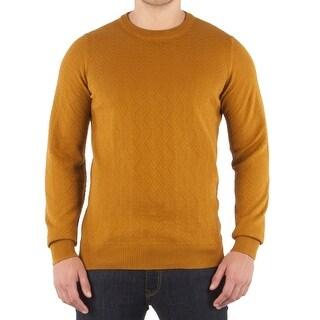 Ben Sherman NEW Gold Mens Size Medium M Pullover Crewneck Sweater