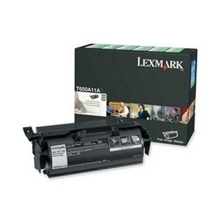 Lexmark T650a11a Black Print T65x Return Program  Toner Cartridge