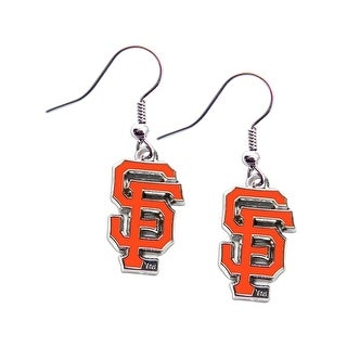 SAN Francisco Giants Dangle Logo Earring Set MLB Charm Gift