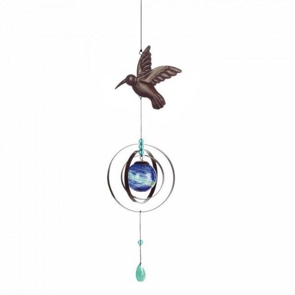 Glow In The Dark Hummingbird Wind Spinner