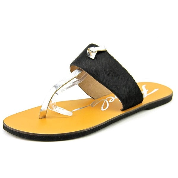 Rebels Meg-Ph Women Open Toe Synthetic Black Thong Sandal