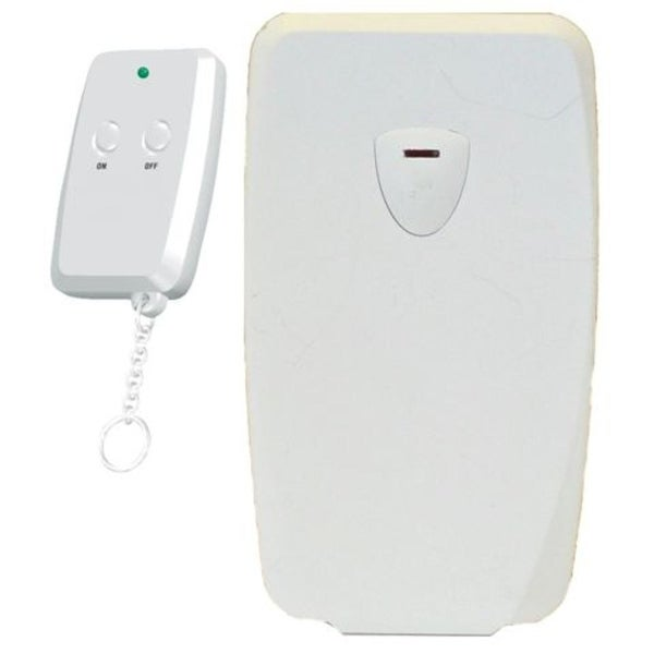 Westinghouse Indoor Wireless Electric Remote Control with Key Chain Transmitter - WHITE