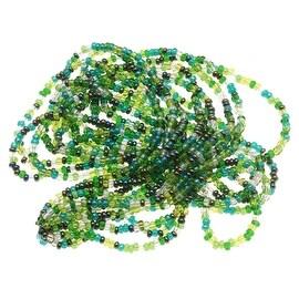 Czech Seed Beads 8/0 Ever Green Mix (1 Half Hank)