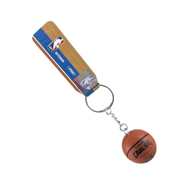 newest collection dc4b3 49779 Cleveland Cavs Cavaliers Mini Basketball Keychain Spalding NBA