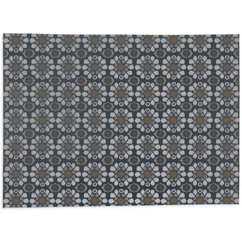 ADELE CHARCOAL Office Mat By Kavka Designs