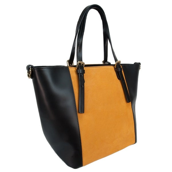 HS 5211 NO LALA Leather Shopper/Tote Bag - 11.5-11-8