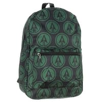 Green Arrow Backpack DC Comics Character Logo Print - One Size Fits most