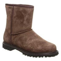 Bearpaw Men's Dante Ankle Boot Chocolate Cow Suede