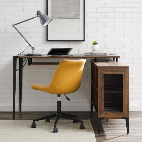 Carbon Loft 52-inch L-Shaped Computer Desk