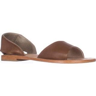 Kelsi Dagger Brooklyn Clarkson Flat Sandals, Cinnamon