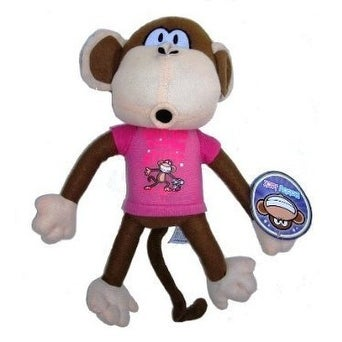 "Disney Bobby Jack 18"" Monkey Plush Stuffed Animal Toy"