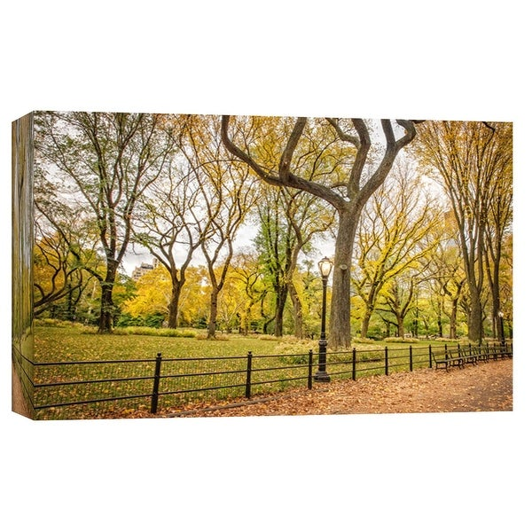 "PTM Images 9-103822 PTM Canvas Collection 8"" x 10"" - ""Central Park Autumn 2"" Giclee Forests Art Print on Canvas"