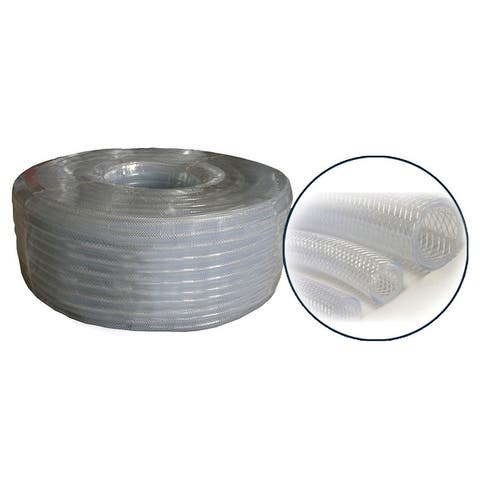 Alpine Clear Reinforced Tubing, 6 Inch Tall