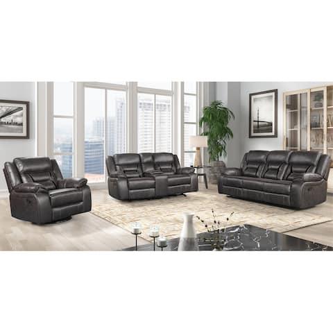 Elkton Manual Motion Reclining Living Room Set