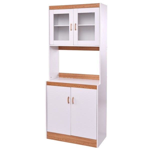Shop Tall Shelves Microwave Cart Stand Kitchen Storage