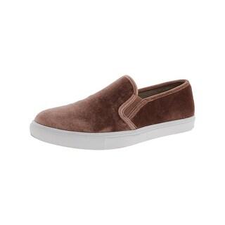 Steve Madden Womens Ecntrcv Loafers Velvet Casual
